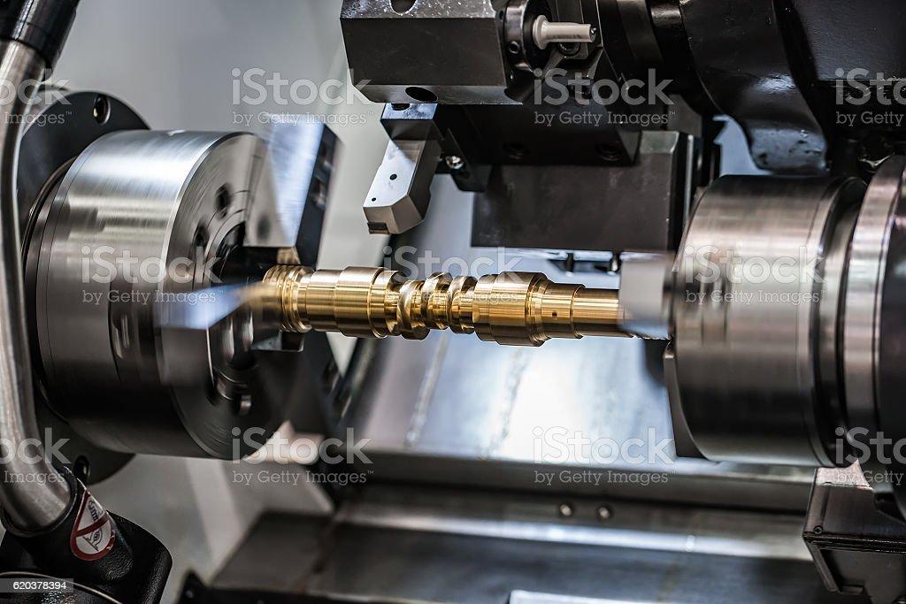 Maszyn CNC frezowanie Tokarka do. zbiór zdjęć royalty-free