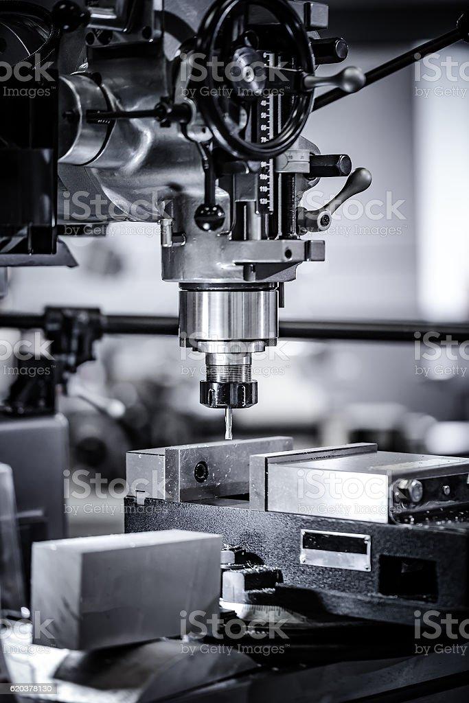 Para trabalhar metais CNC máquina de moagem. foto de stock royalty-free