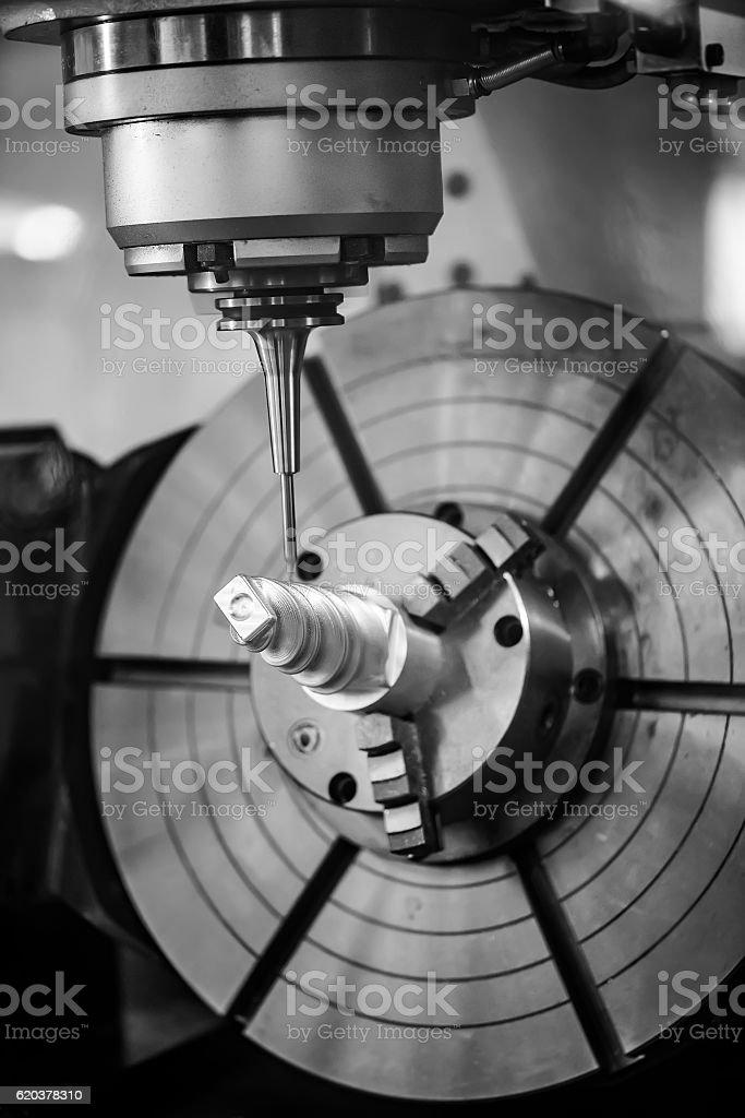 Maszyn CNC frezowanie maszyny. zbiór zdjęć royalty-free