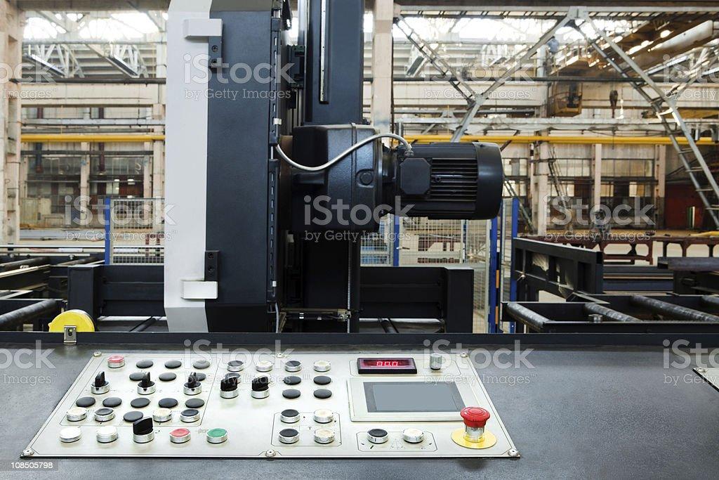 metalworking machine stock photo