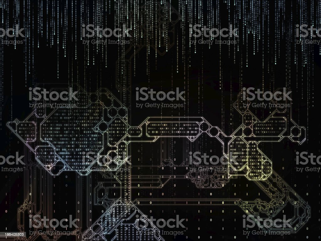 Metaphorical Key Code Stock Photo - Download Image Now - iStock