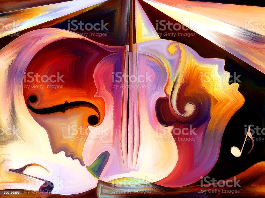 Metaphorical Music stock photo