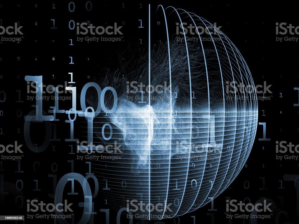 Metaphorical Numbers royalty-free stock photo