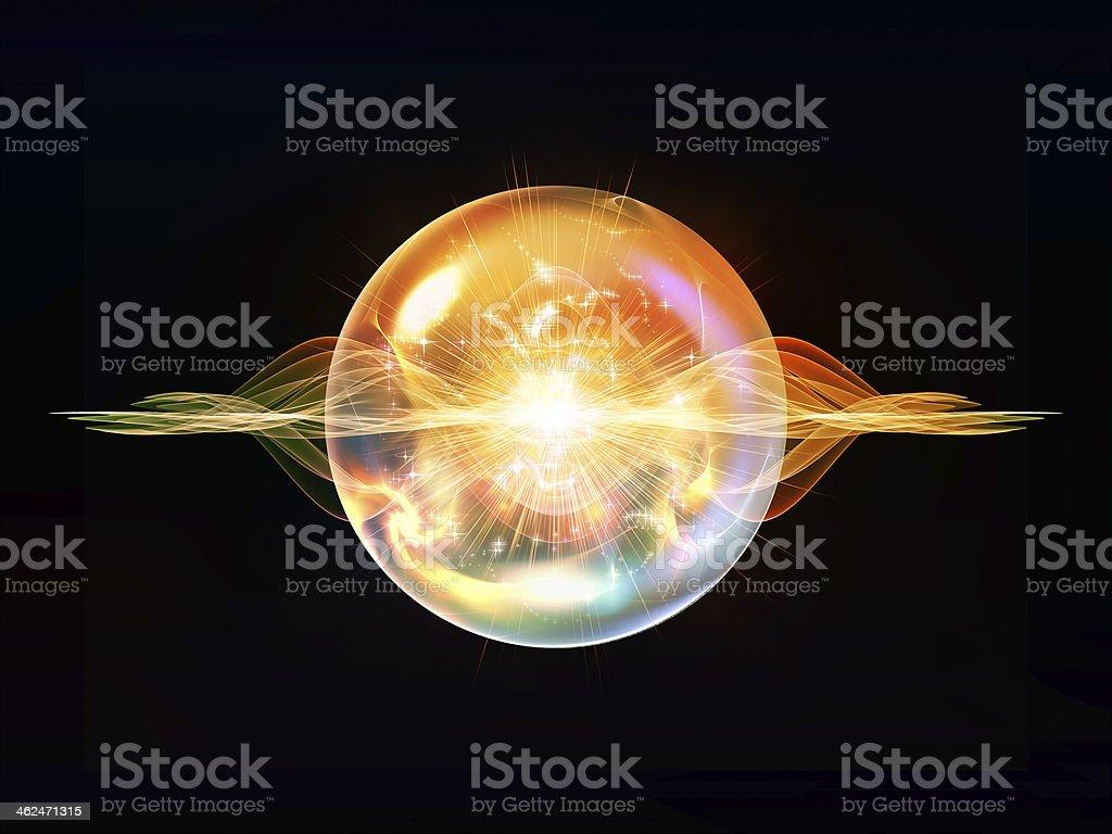 Particule métaphorique vague - Photo