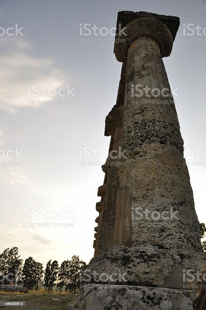 Metaponto - Basilicata - Italy royalty-free stock photo