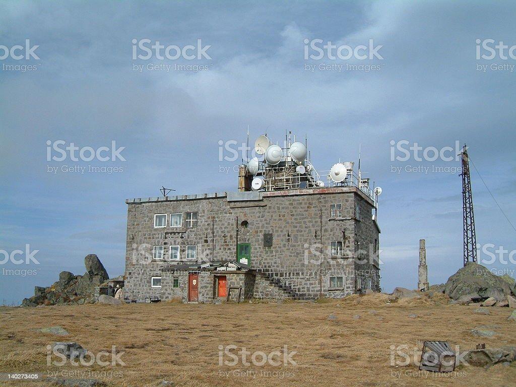 meteo station royalty-free stock photo