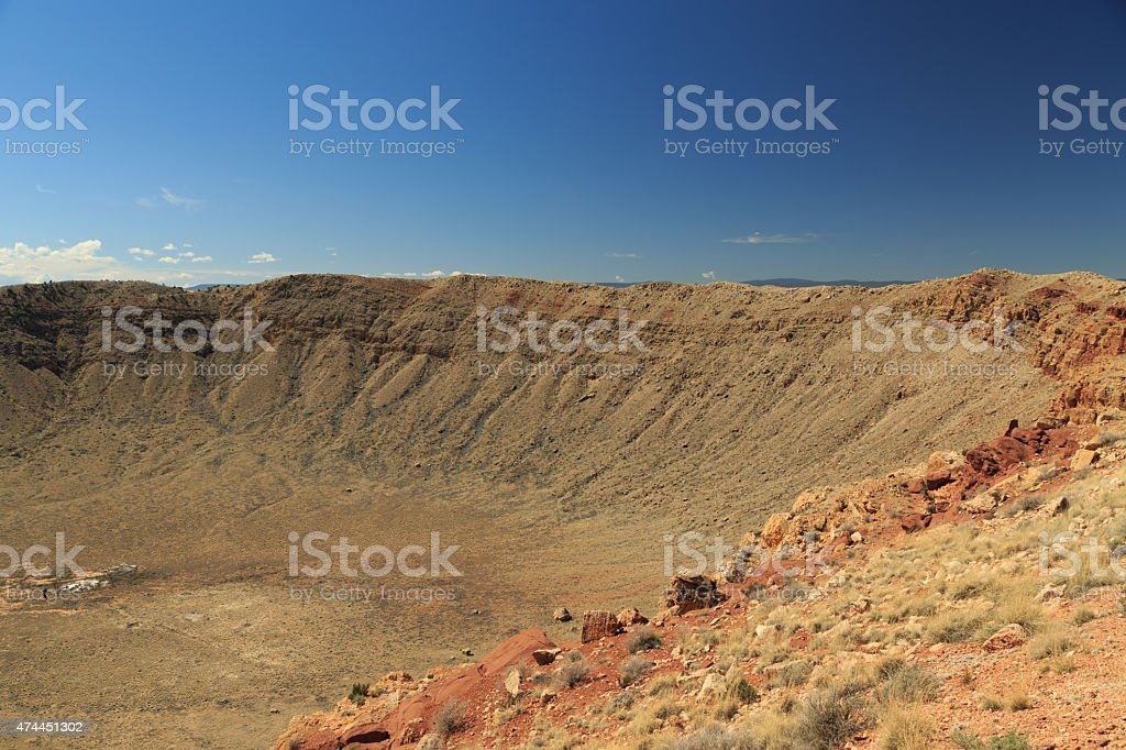 Meteor Crater stock photo