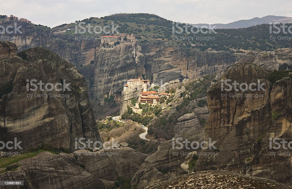 Meteora royalty-free stock photo
