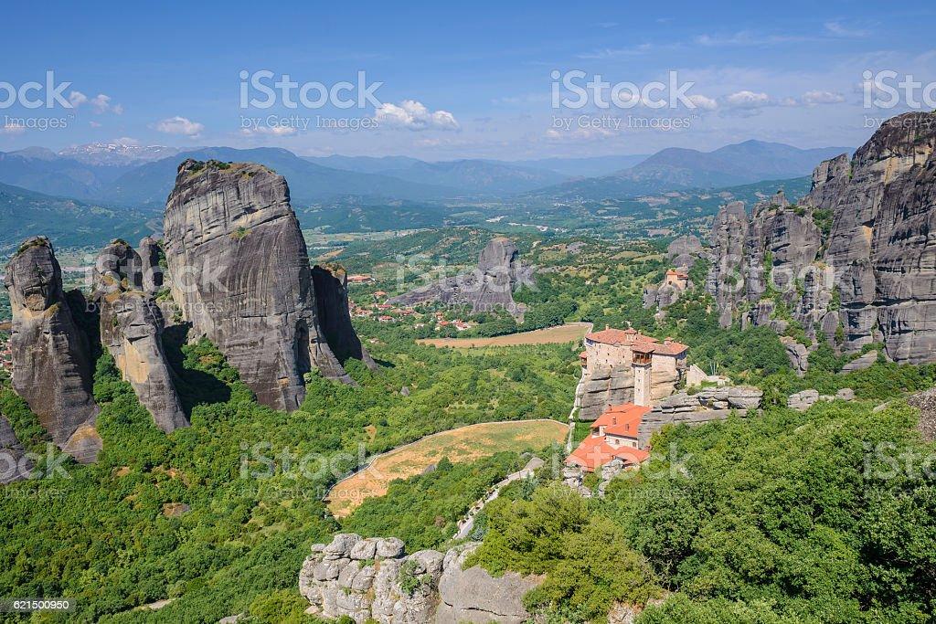 Monasteri Meteora, Grecia foto stock royalty-free