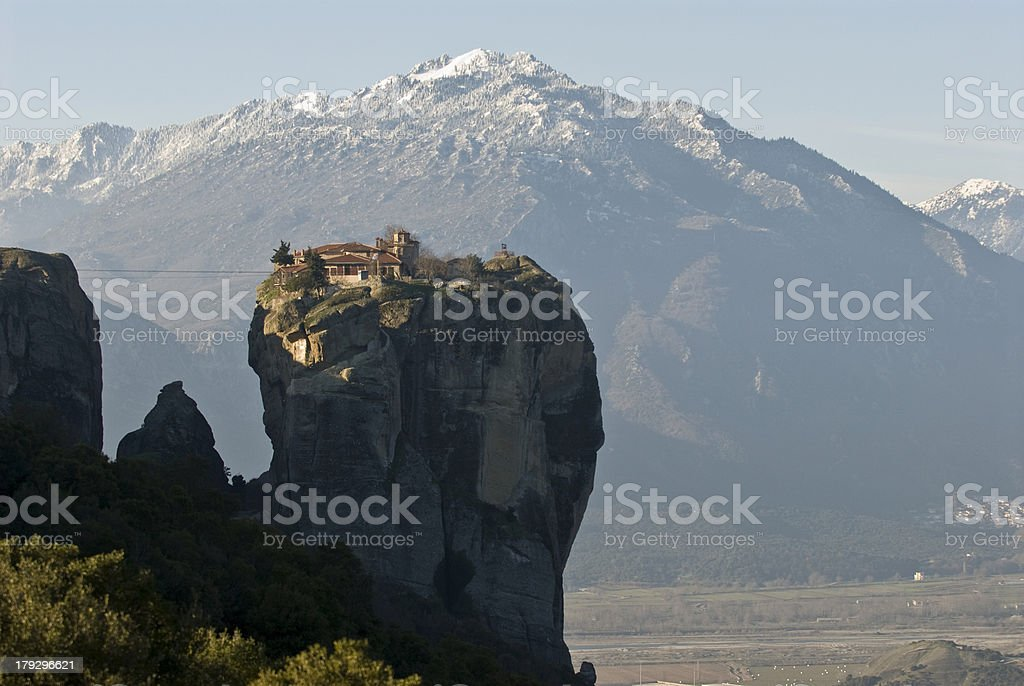 Meteora Monasteries royalty-free stock photo
