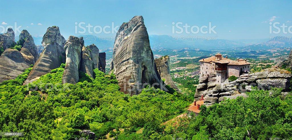 Meteora,Greece stock photo