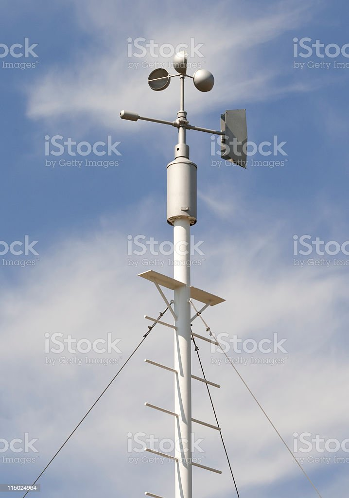 meteorology equipment royalty-free stock photo