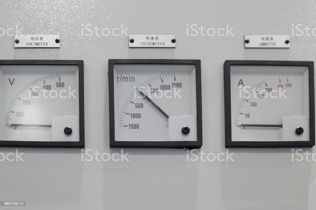 Meter box royalty-free stock photo