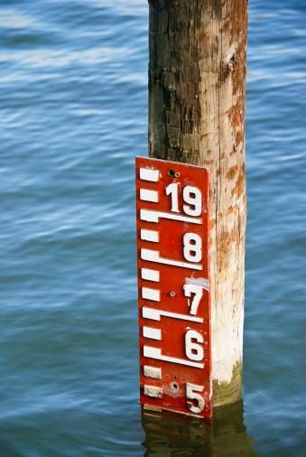 Meter Der Wasserstand In Den See Stockfoto und mehr Bilder von Fotografie