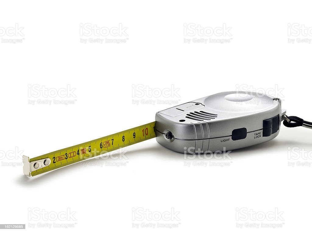 meter (clipping path) royalty-free stock photo