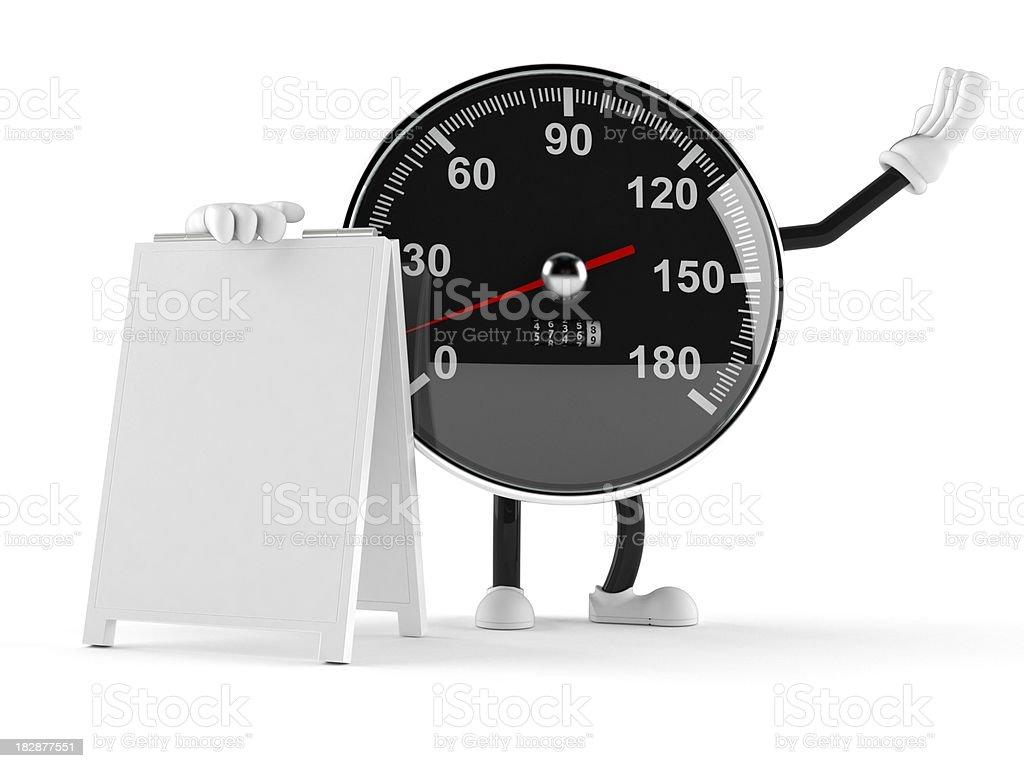Meter royalty-free stock photo
