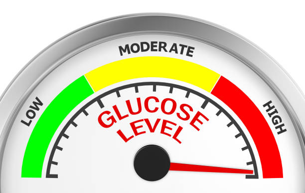 meter  - hypoglykämie stock-fotos und bilder