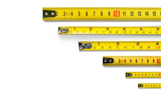 meter. - ruler stock photos and pictures