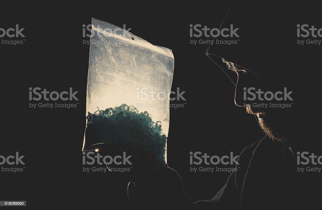 Meth Addict stock photo
