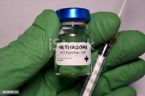 istock Methadone opioid pain medication 955608220