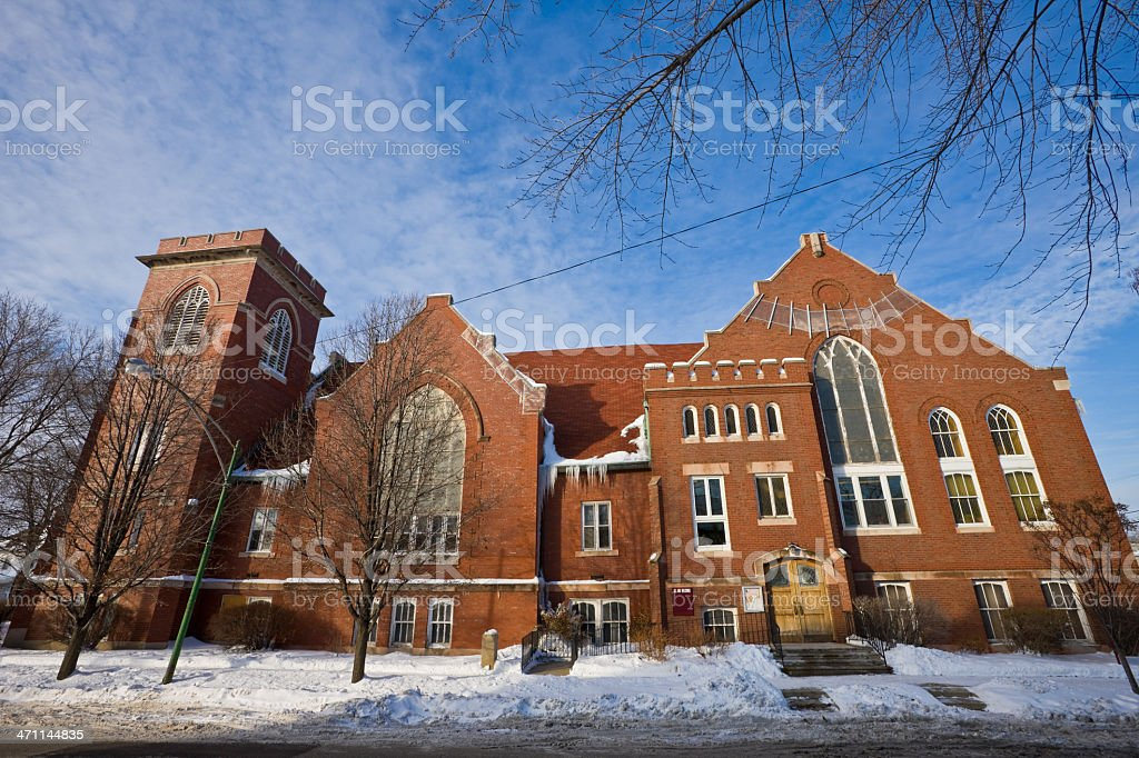 Methodist Church in Chicago royalty-free stock photo