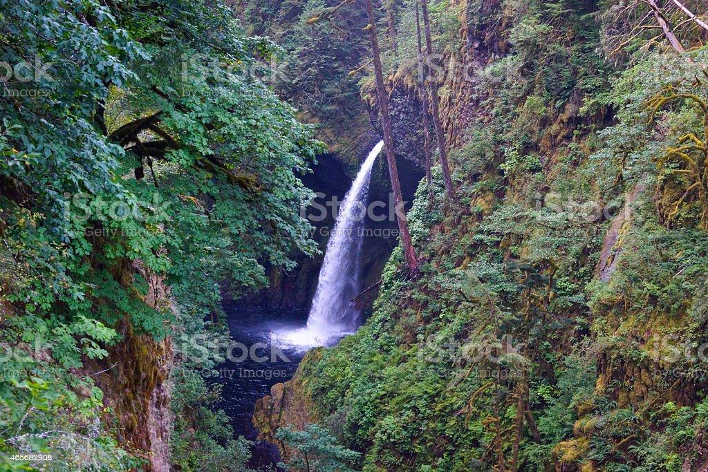 Metlako Falls stock photo