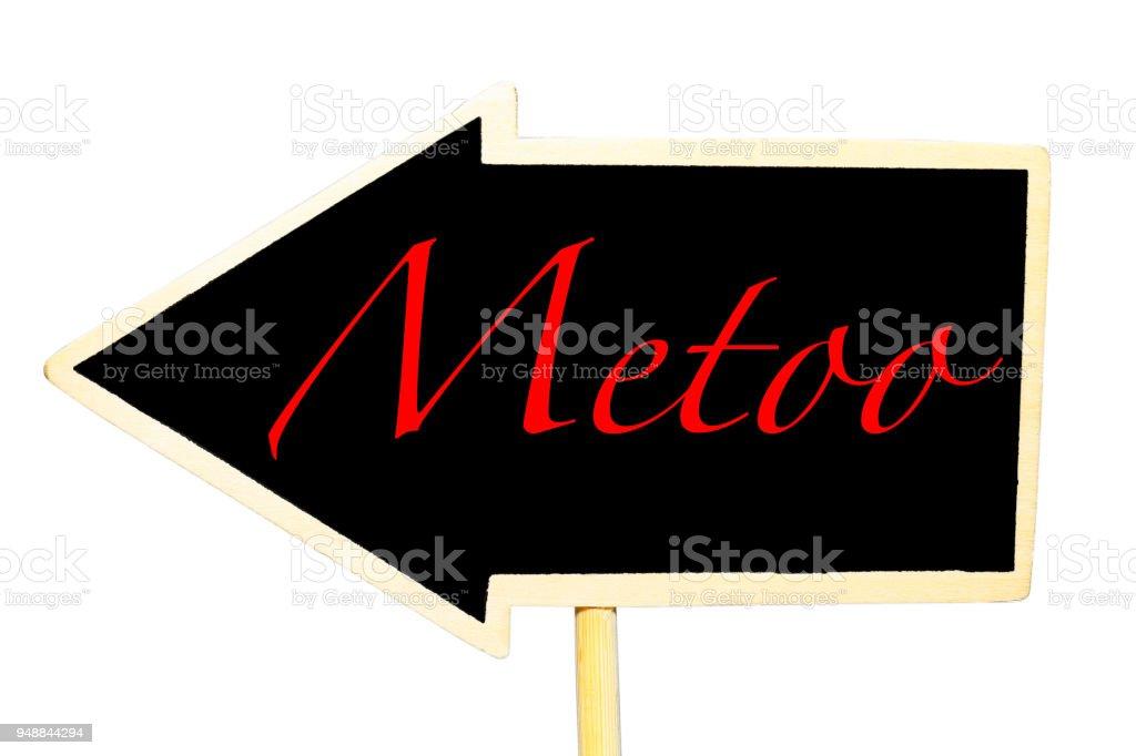 MeToo stock photo