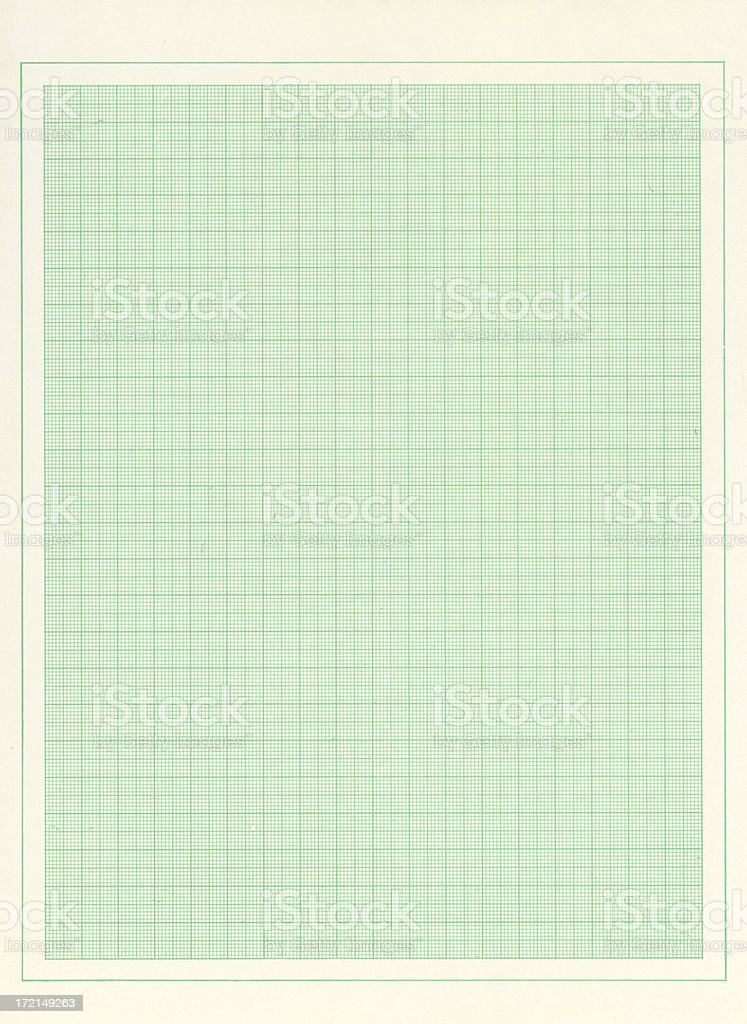 Metric graph paper royalty-free stock photo