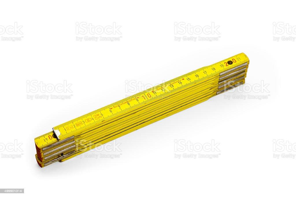 Metric Measuring Device stock photo