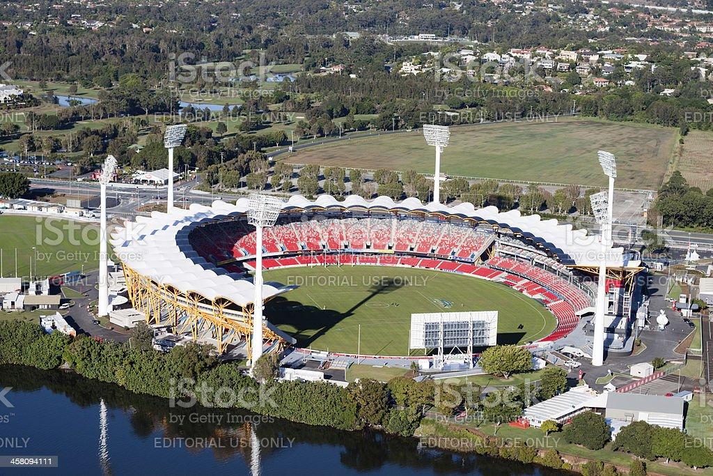Metricon Stadium, Gold Coast, Australia stock photo