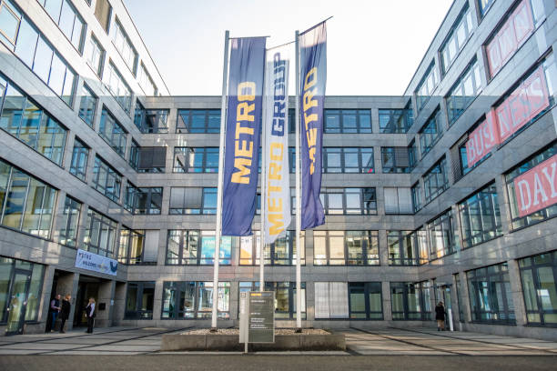 Metro Hauptsitz Gebäude in Düsseldorf – Foto