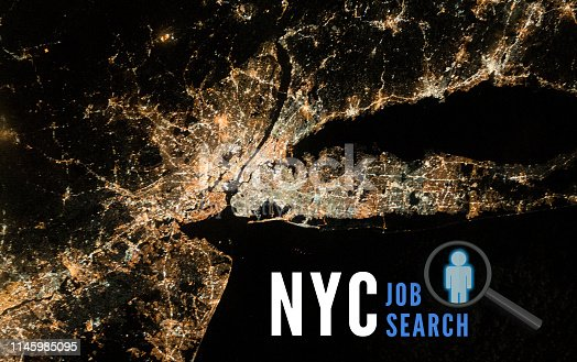 NYC metro job search.  Looking for careers and opportunities in new york city.  Elements of this image furnished by NASA