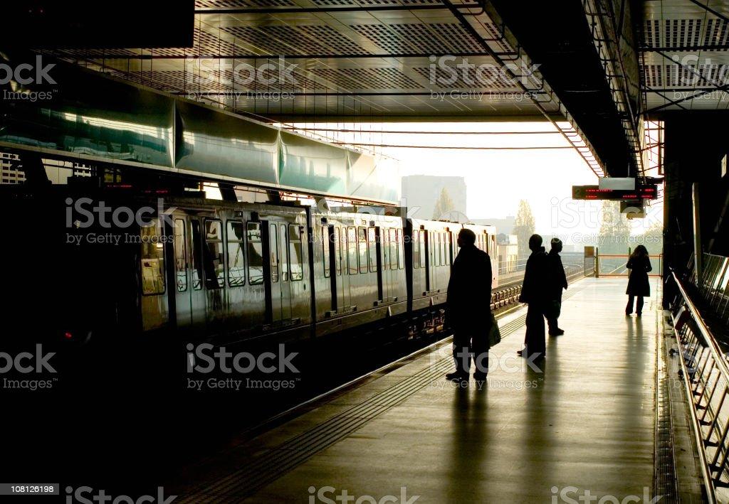 metro line royalty-free stock photo