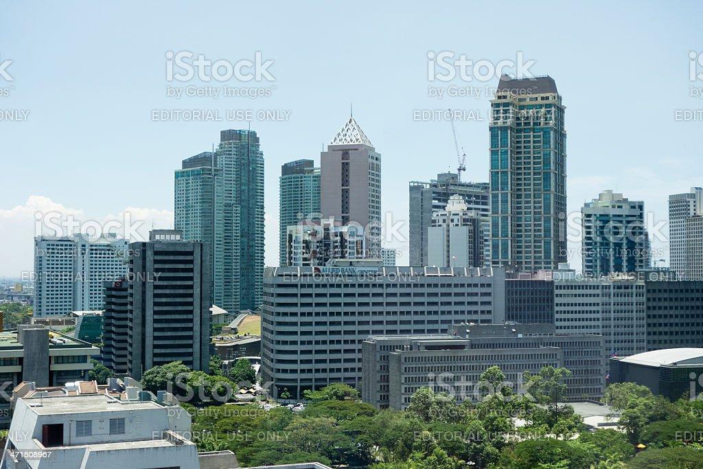 Metro Manila Philippines royalty-free stock photo