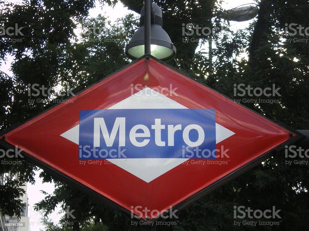 Metro stock photo