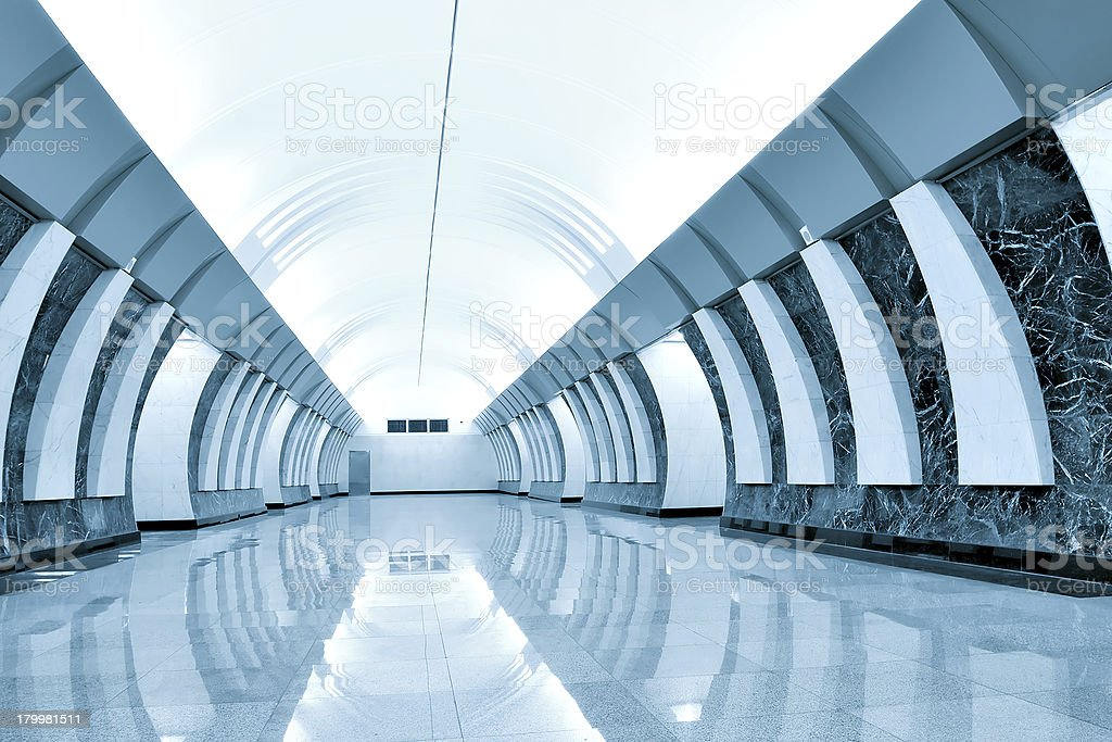 metro station royalty-free stock photo