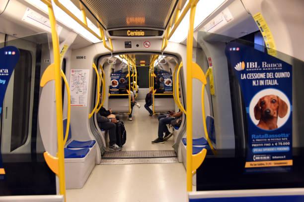 U-Bahn-Zug Milan – Foto
