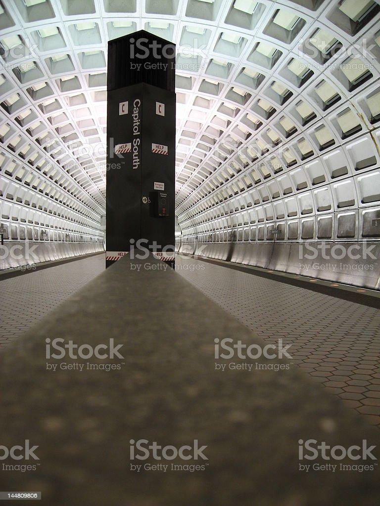 Metro Tunnel 2 royalty-free stock photo