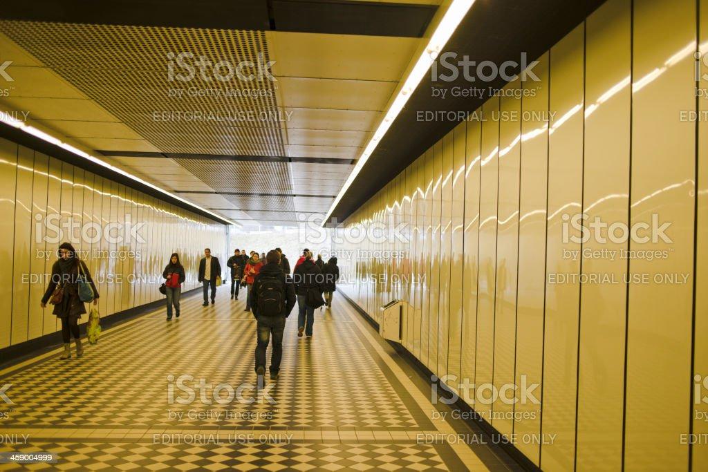 Metro,  Vienna, Austria royalty-free stock photo