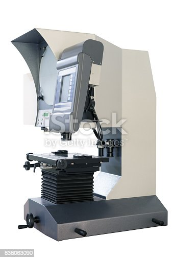 istock Metrology laboratory in a large Italian industry 838063090
