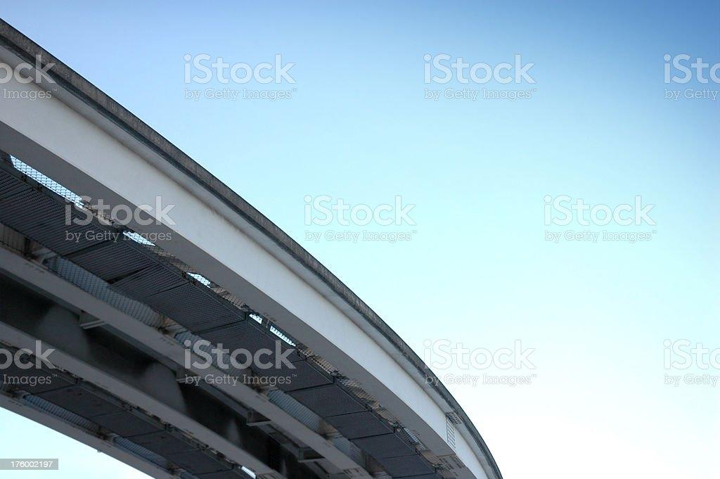 metromover way stock photo