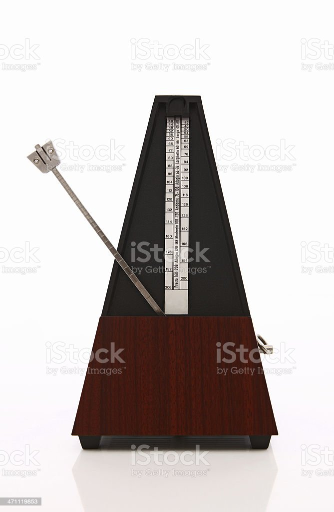 metronome royalty-free stock photo