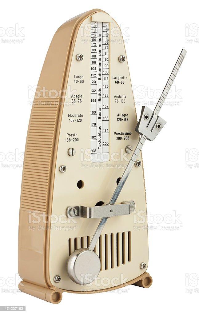 Metronome stock photo
