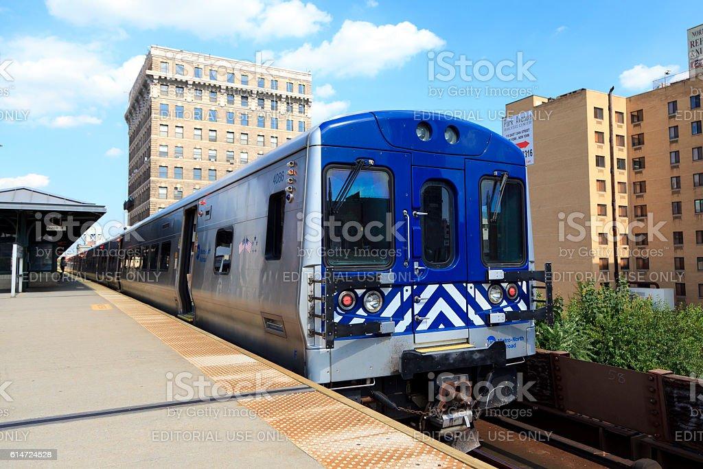 Metro-North Railroad stock photo