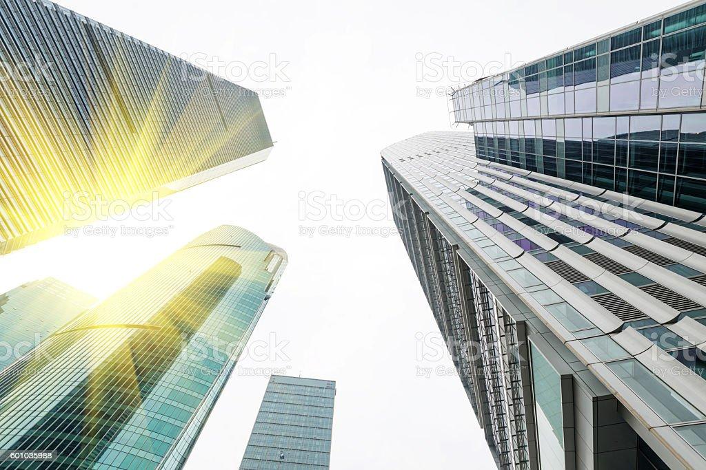 Metropole Shanghai Moderne Bürogebäude  – Foto