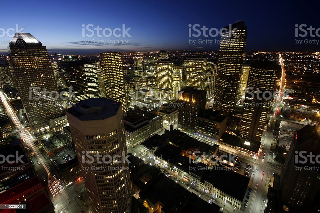 Metropolis royalty-free stock photo