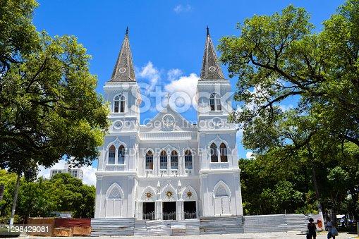 istock Metropolitan Cathedral of Aracaju. 1298429081
