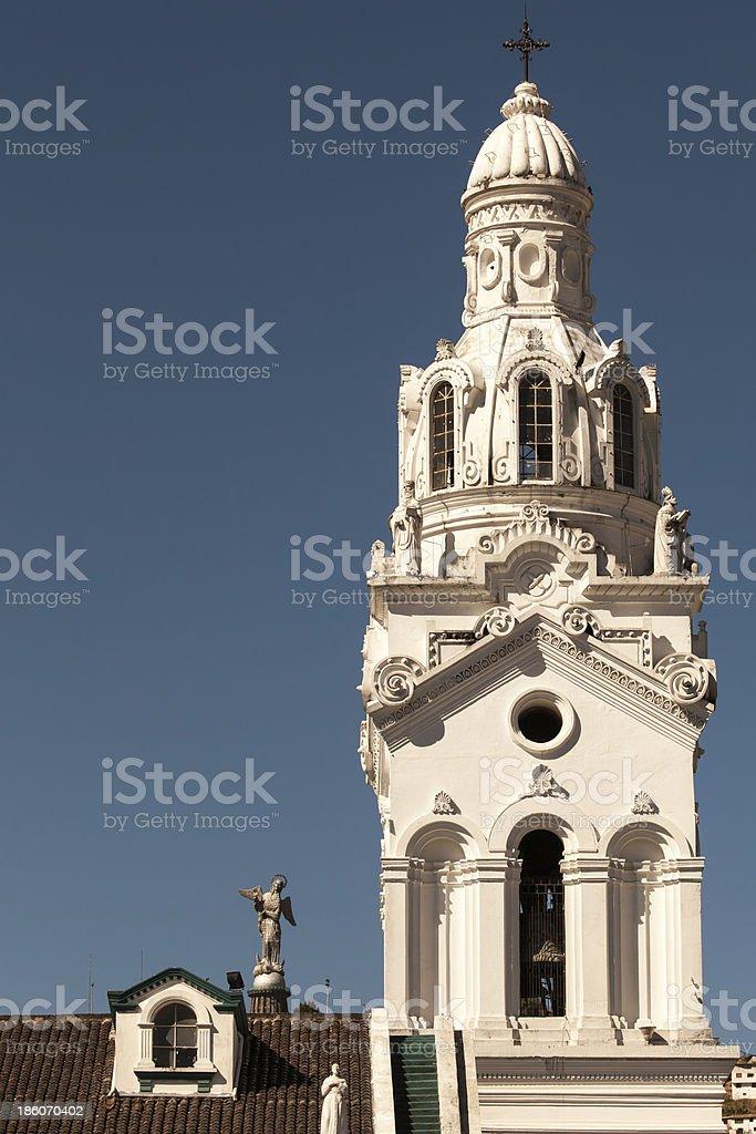 Metropolitan Cathedral of Quito, Ecuador stock photo