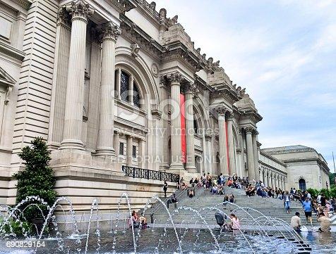 Metropolitan Museum of Arts in New York. USA
