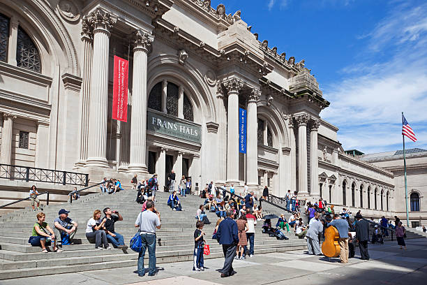 Metropolitan Museum of Art NYC stock photo